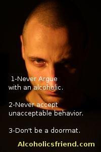 angry alcoholic